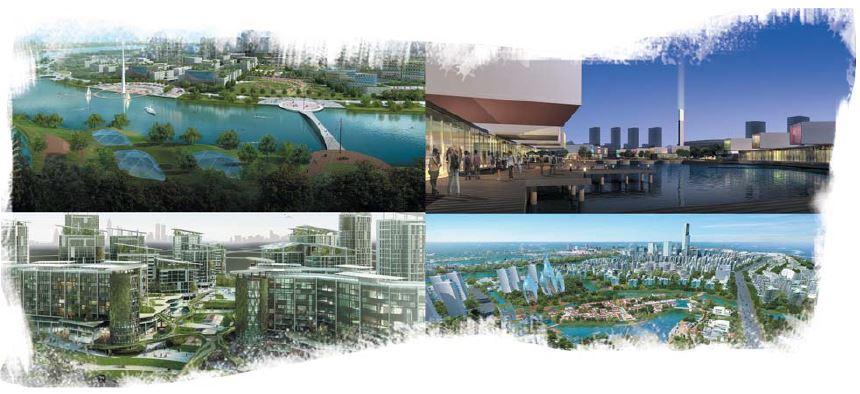 Sino-Singapore Tianjin Eco-city 110KV Substation